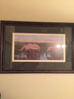 Elephant frame for Sale in Alexandria, VA