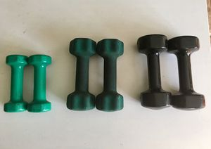 Dumbbell Weight Sets 3lb, 5lb, 7lb for Sale in Miami Gardens, FL