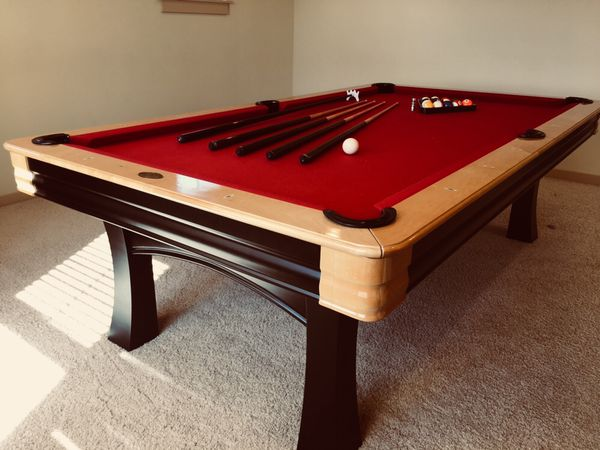 DLT Pool Table Red For Sale In Bothell WA OfferUp - Dlt pool table