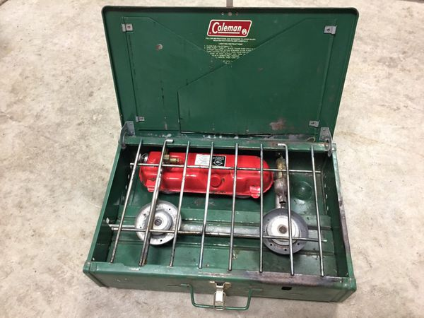 Vintage Coleman dual fuel camping stove $60 obo for Sale in McHenry, IL -  OfferUp