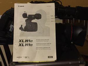 Canon xl h1 HD video camera recorder for Sale in Montclair, VA