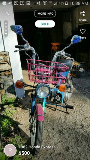 1982 Honda Express 49cc moped for Sale in Lee's Summit, MO - OfferUp