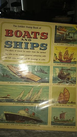 1956 Boats & Ship stamp book for Sale in South Salt Lake, UT