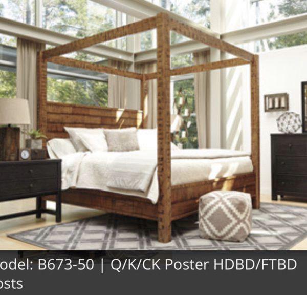 King Poster Bedroom Set Group Of 6 For Sale In Orlando Fl Offerup