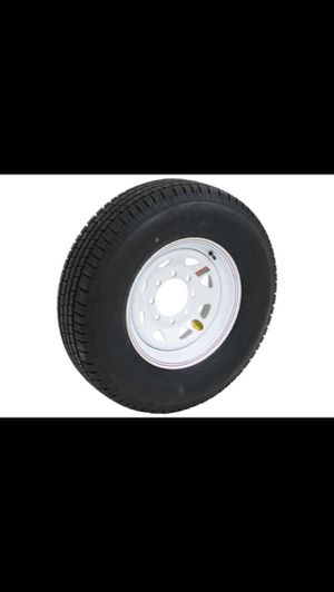 Trailer Tires For Sale- 235/80 R16 White Spoke for Sale in Houston, TX