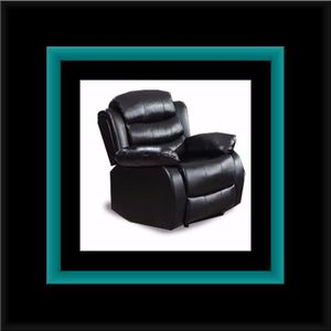 Black recliner chair for Sale in College Park, MD