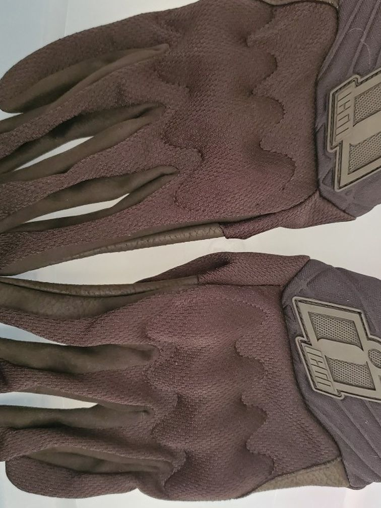 Mens Small Icon Anthem 2 CE motorcycle Gloves