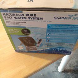 Naturally pure Salt Water System Summer waves Thumbnail