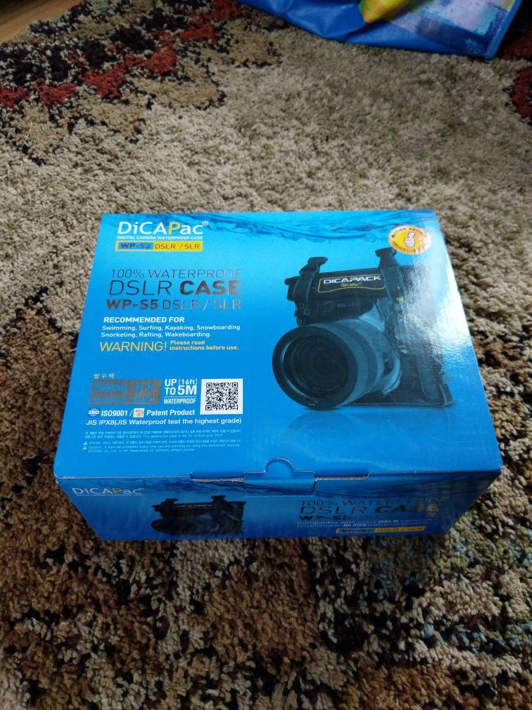 DicaPac waterproof DSLR case