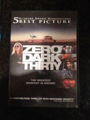 Zero Dark Thirty Movie for Sale in Houston, TX