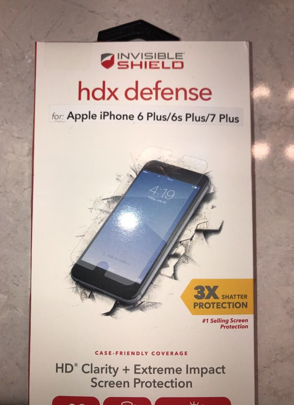 factory price d0e5e 0a1e4 Zagg HDX HD clarity + Extreme impact screen protection for Sale in Delray  Beach, FL - OfferUp