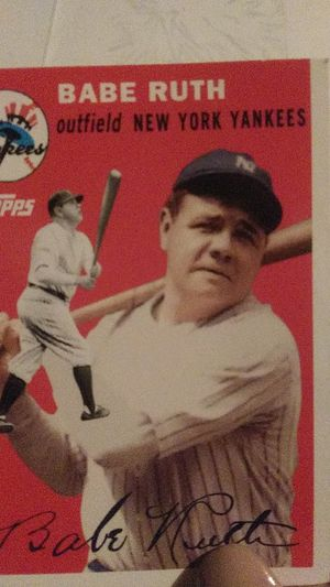 Babe ruth card and perfect condition coins for Sale in Woodbridge, VA