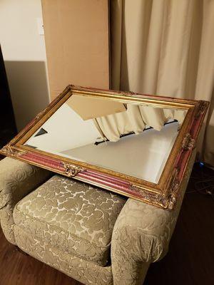 Ornately framed LARGE Mirror for Sale in Houston, TX