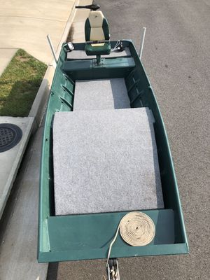 14 ft Jon Boat with trailer and more for Sale in Warrenton, VA