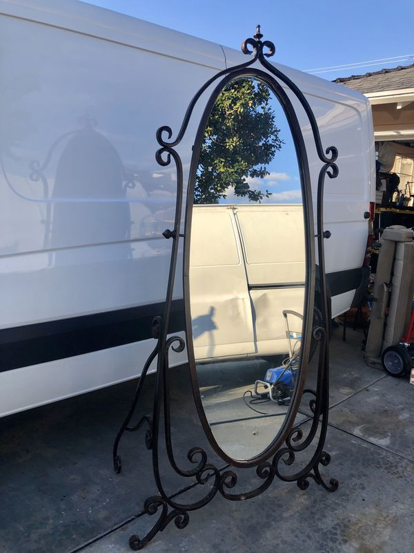 Z Gallerie Tall Wrought Iron Mirror For Sale In Tustin Ca