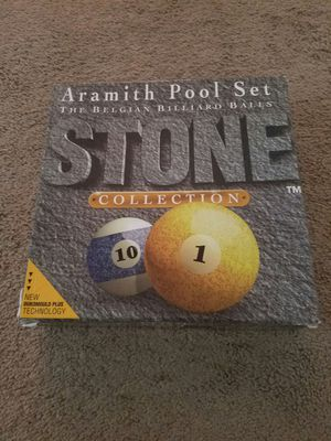 Aramith Stone Collection for Sale in Detroit, MI
