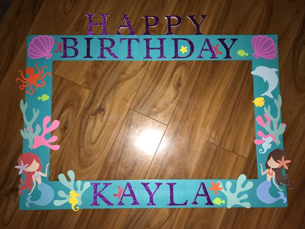 Birthday Photo Booth Frame For Sale In San Jose Ca Offerup