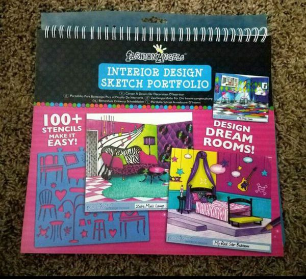 Interior Design Sketch Portfolio Fashion Angels New For Sale In Phoenix Az Offerup