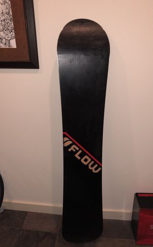 Flow Mainframe camber snowboard 159 for Sale in Denver, CO