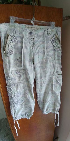 72c751ca04af73 Camouflage crop pants ladies Med for Sale in Lake Worth
