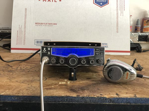 COBRA 29 LX CB Radio with roadking mic & gear keeper mic holder for Sale in  Mohnton, PA - OfferUp