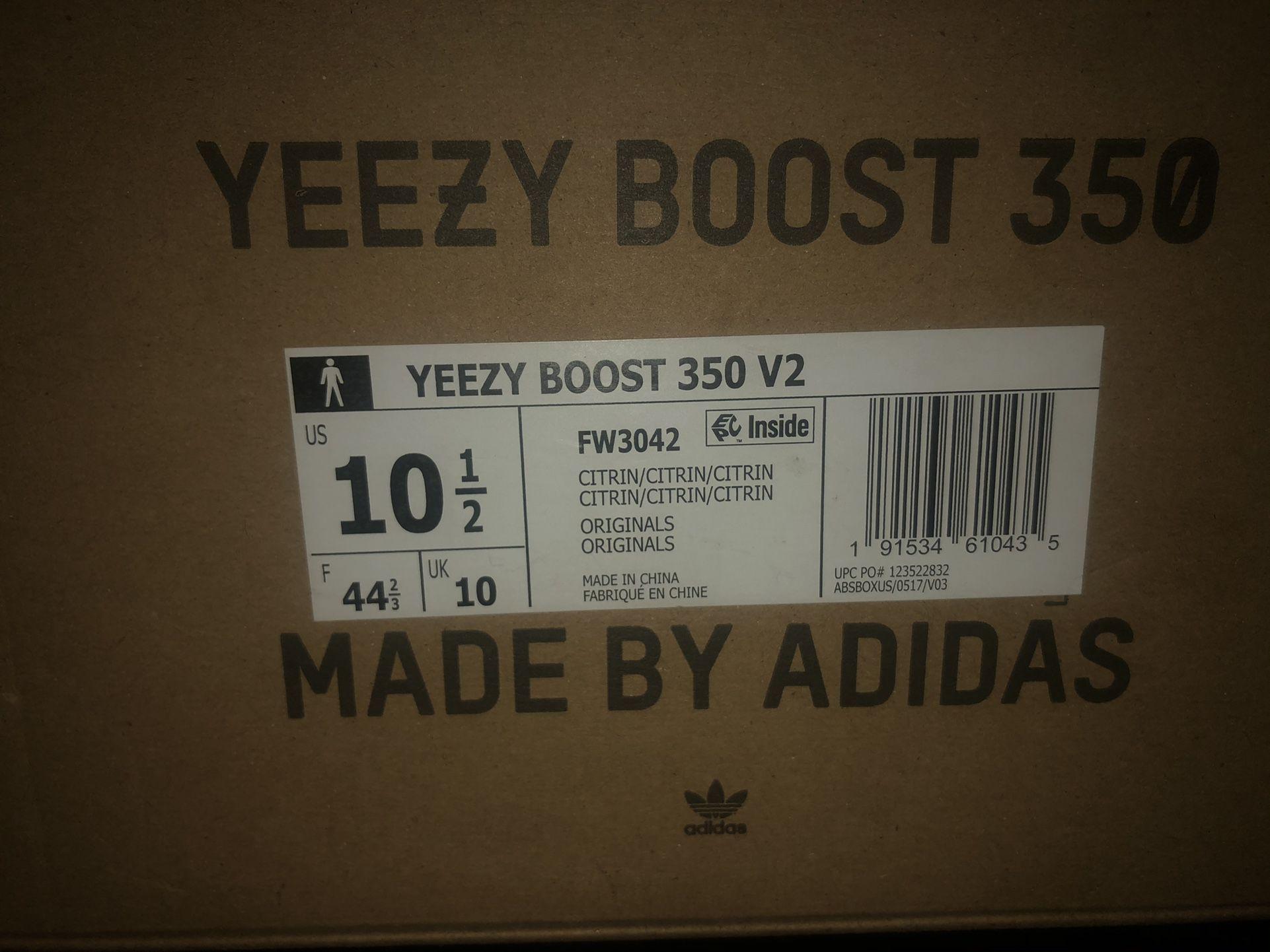 Yeezy Boost 350 Citrin