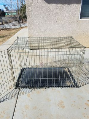 Photo Xtra Large Dog Crate with Tray on Bottom 41 X 25 X 27 YES still Available