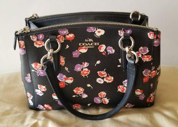 4f9bab297433 Coach Mini Christie Carry All Bag Excellent Condition In