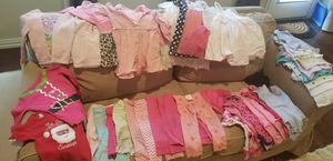 Lot 40 clothes baby girl toddler 18mo for Sale in Plano, TX