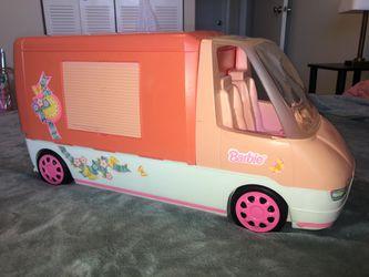 1996 Barbie Magical Motorhome, Camper, RV Vintage Thumbnail