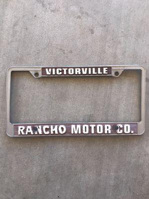 Vintage victorville rancho motors dealership frame for Sale in Hesperia, CA