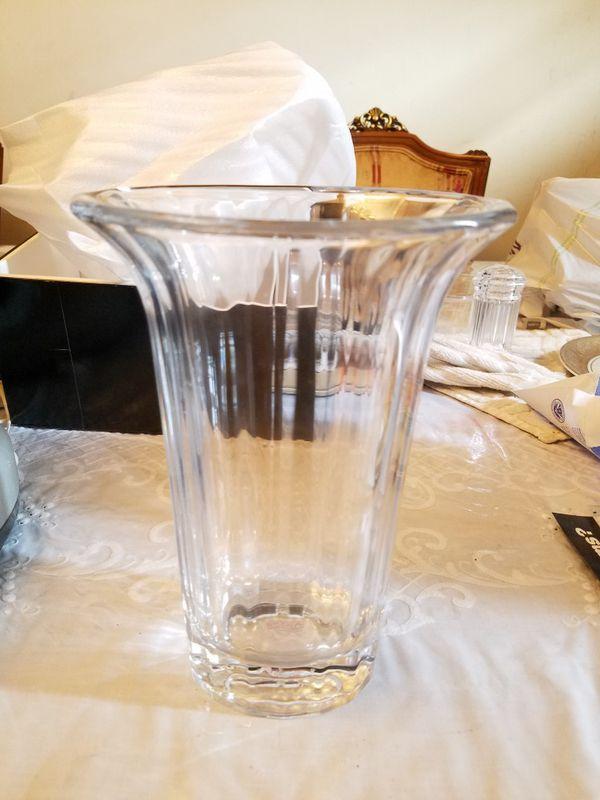Dansk Crystal Vase Vase And Cellar Image Avorcor