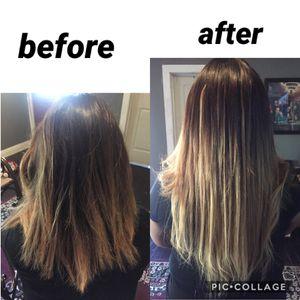 extensiones de cabello 100% pelo natural especial del for Sale in Dallas, TX
