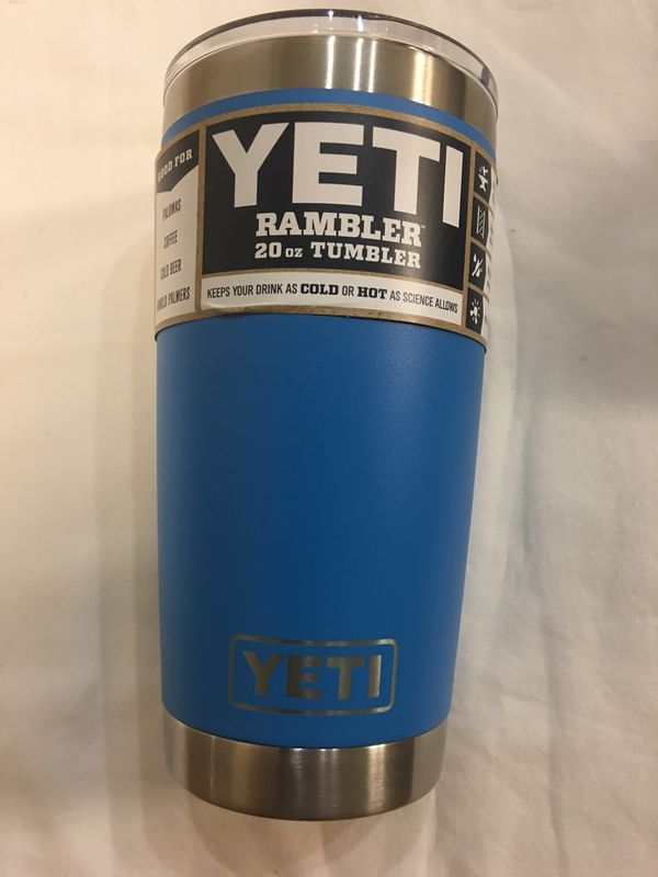 b6862ac1d89 Brand new 20 oz Tahoe blue yeti rambler for Sale in San Jose, CA - OfferUp