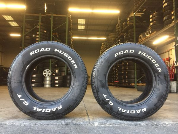 We Sell A Pairs Of Used Tires P235 60r15 Road Hugger Radial G T For