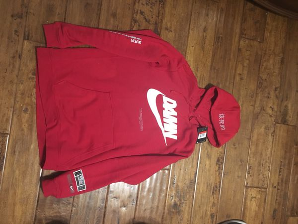 Nike DAMN collab hoodie for Sale in Walnut 4f39411c50e