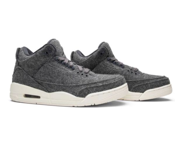 "26e6b08f9dc8f1 Jordan 3 ""WOOL"" SZ  11.5 (used)   Flawless Condition   for Sale in ..."