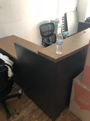 Office Concierge Desk L Shape for Sale in Dallas, TX