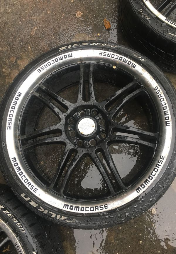 Negotiable 4 Set Of Momo Corse Wheels For In Charlotte Nc Offerup