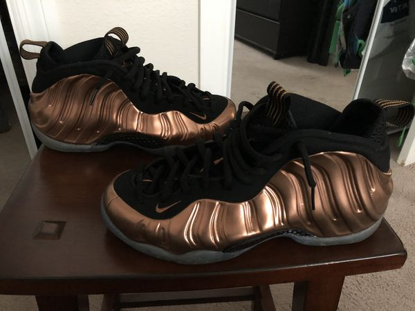 "new products d34d6 1fb38 AIR FOAMPOSITE ONE ""COPPER"" for Sale in Tampa, FL - OfferUp"