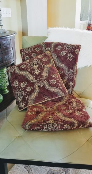 One pillow and a cover chair for Sale in Apopka, FL