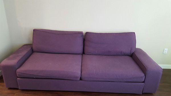 Ikea Kivik Sofa Bed Seats 3 Ppl Easy Springless Washable