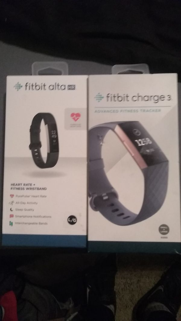Fitbit Alta HR & Fitbit Charge 3(2 Fitbit) for Sale in San Jose, CA -  OfferUp