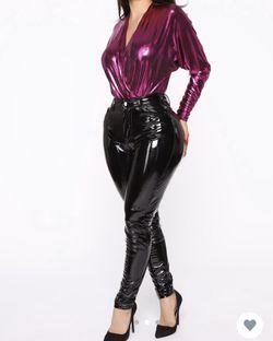 Fashion Nova Beautiful Bodysuit Color- Fuchsia Thumbnail