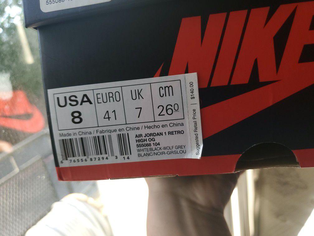 "Baron 1s size 8 OG all ""2014"" 🔥"