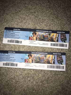 Dorney Tickets for sale for Sale in Plymouth Meeting, PA