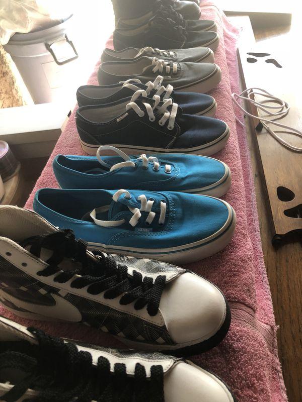 watch c7ea5 a1f05 Kids shoes boys vans nikes DC sizes 5   5 1 2 6, women size 7 1 2 8 k Swiss  8 Nike