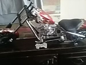 Toy chopper motor cycle for Sale in Columbus, OH