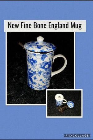 Photo New Fine Bone China Mug Cup England Coffee Tea