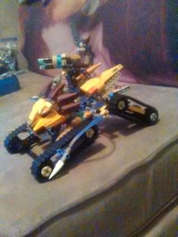 Lego Chima Lavail Royal Tank Complete With Instructions For Sale In